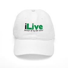 iLive Liver Baseball Cap