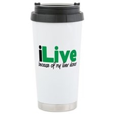 iLive Liver Travel Coffee Mug