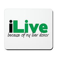 iLive Liver Mousepad