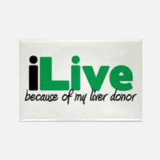 iLive Liver Rectangle Magnet