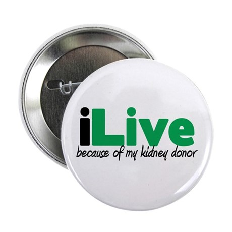 """iLive Kidney 2.25"""" Button"""