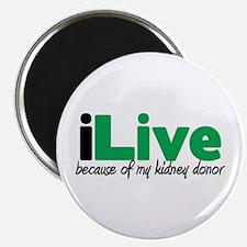 """iLive Kidney 2.25"""" Magnet (10 pack)"""