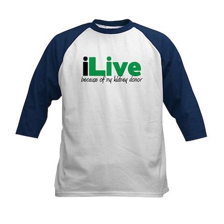 iLive Kidney Kids Baseball Jersey