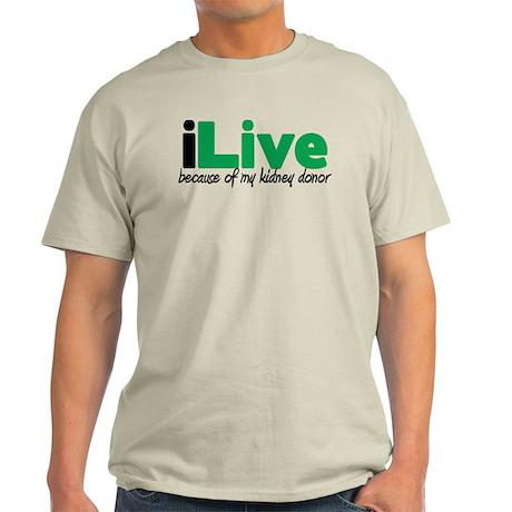 iLive Kidney Light T-Shirt