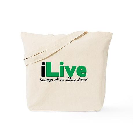 iLive Kidney Tote Bag