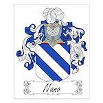 Nano Family Crest Small Poster