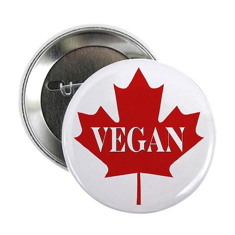 Canadian Vegan Button