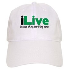 iLive Heart/Lung Baseball Cap