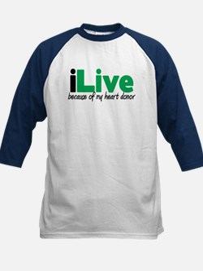 iLive Heart Kids Baseball Jersey