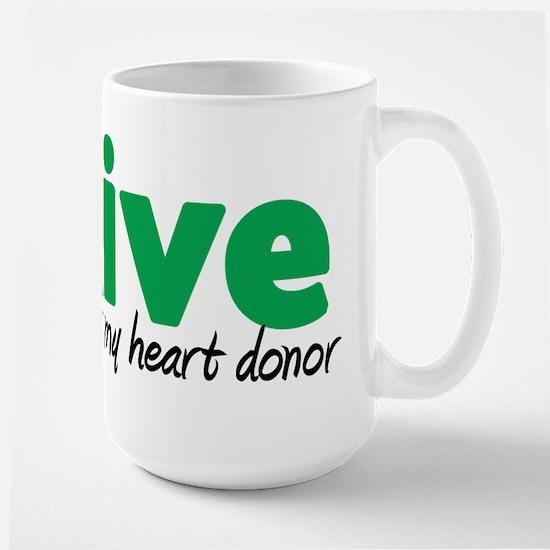 iLive Heart Large Mug