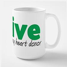 iLive Heart Mug