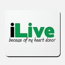 iLive Heart Mousepad
