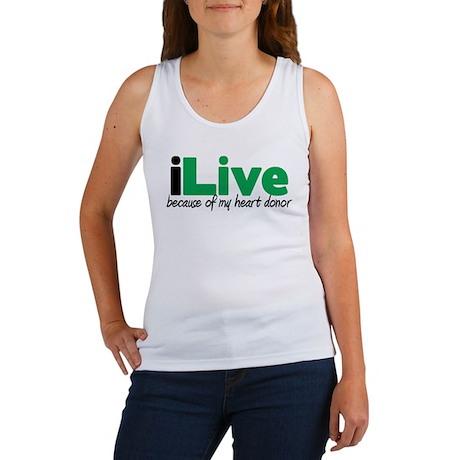 iLive Heart Women's Tank Top