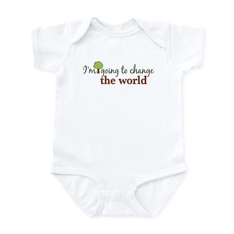 I'm Going to Change the World Infant Bodysuit