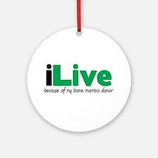 iLive Bone Marrow Ornament (Round)