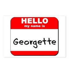 Hello my name is Georgette Postcards (Package of 8