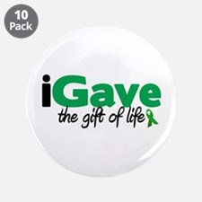"""iGave Life 3.5"""" Button (10 pack)"""