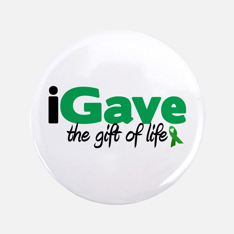 "iGave Life 3.5"" Button (100 pack)"