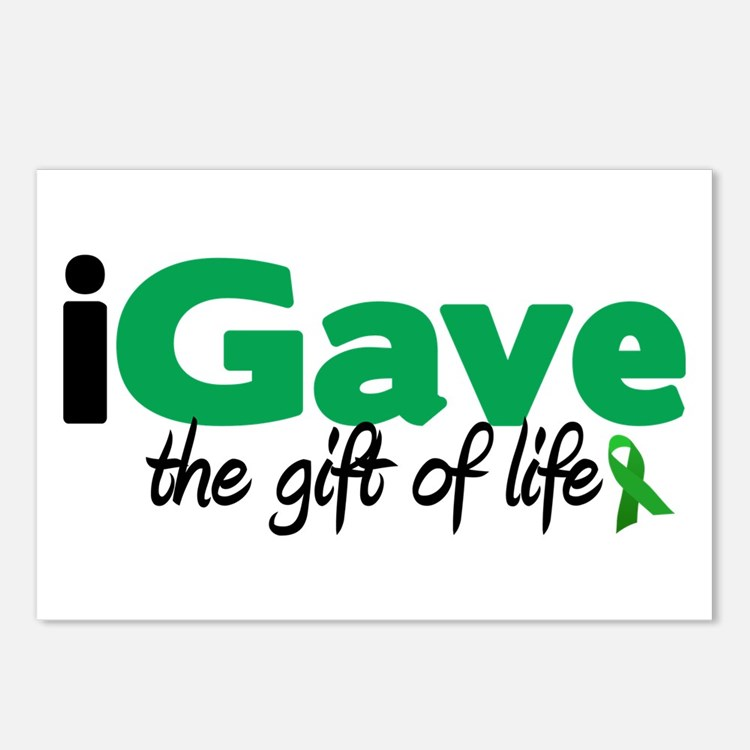 iGave Life Postcards (Package of 8)