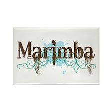 Cool Marimba Rectangle Magnet
