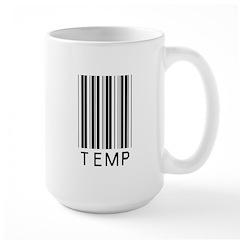 Temp Barcode Mug