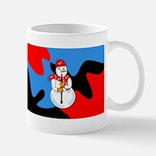 Clarinet Snowman Mug