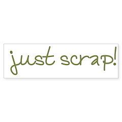 Just Scrap2 Bumper Sticker (50 pk)