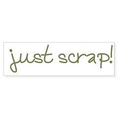 Just Scrap2 Bumper Sticker (10 pk)
