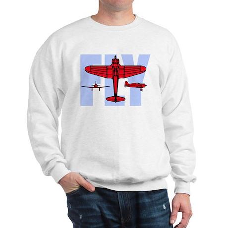 Fly! Airplane Sweatshirt