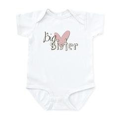 Big Sister Infant Bodysuit