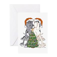 NN Xmas Tree2 Greeting Card