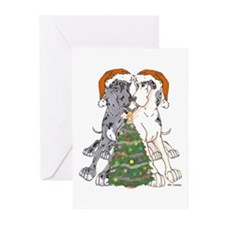 NN Xmas Tree2 Greeting Cards (Pk of 20)