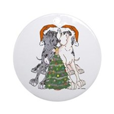 NN Xmas Tree2 Ornament (Round)