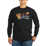 Crop til you drop Long Sleeve Dark T-Shirt