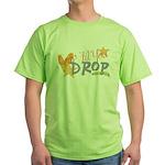 Crop til you drop Green T-Shirt