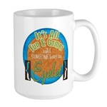 Fun and Games Large Mug
