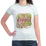 Biggest Big Sister Jr. Ringer T-Shirt