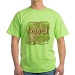 Biggest Big Sister Green T-Shirt