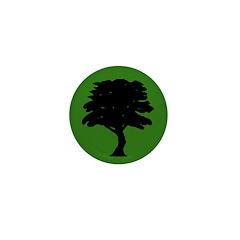 Tree Mini 1 inch Button (10 pack)