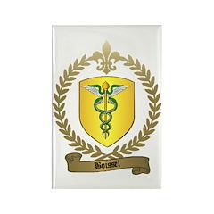 BOISSEL Family Crest Rectangle Magnet (10 pack)