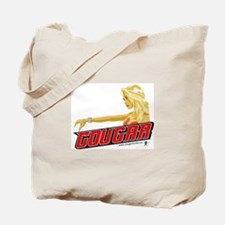 Cougar Driving! Tote Bag