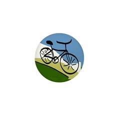 Bicycle Mini Button (100 pack)