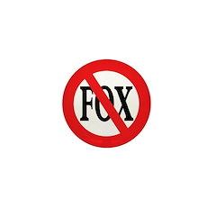 Anti-Fox 1 inch Mini Button