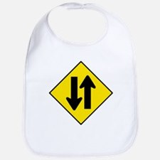 Two-Way Traffic Sign - Bib