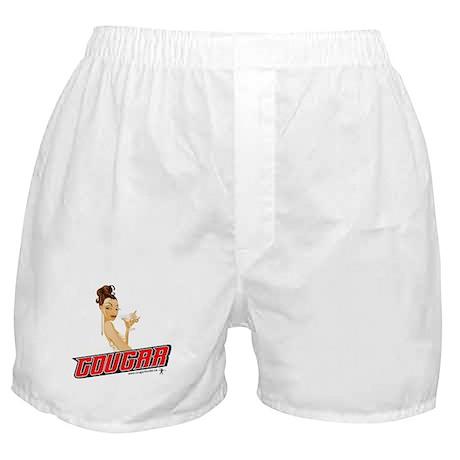 Drinking Cougar Boxer Shorts