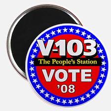 V-103 VOTE 08 Magnet