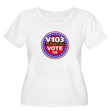 V-103 VOTE 08 T-Shirt