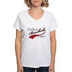 Cullen Baseball League Women's V-Neck T-Shirt