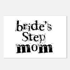Bride's Step Mom Postcards (Package of 8)