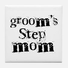 Groom's Step Mom Tile Coaster